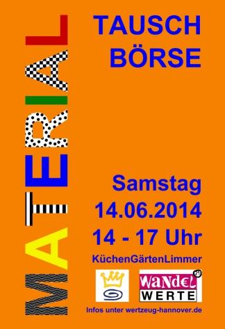 Wertzeug: Materialtauschbörse, Veranstaltung in Hannover